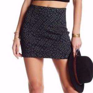 NWT Free People | Indigo Mini Skirt Sz 4